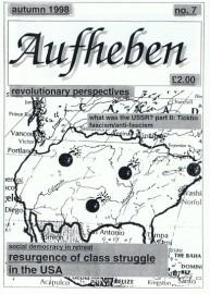 Aufheben # 7 - Autumn 1998