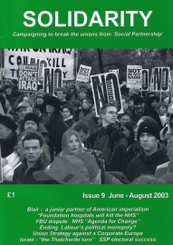 Solidarity - Issue # 9 (Aug 2003)