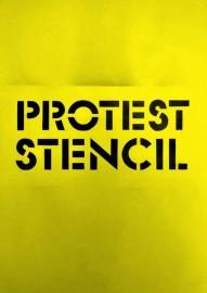 Protest Stencil
