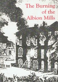 The Burning of the Albion Mills (small format)