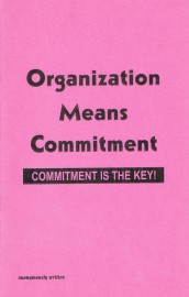 Organization Means Commitment