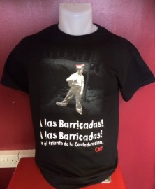 A Las Barricadas T-shirt
