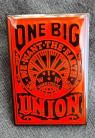 One Big Union IWW enamel badge