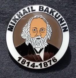 Mikhail Bakunin badge