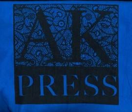 Blue AK Logo Bag